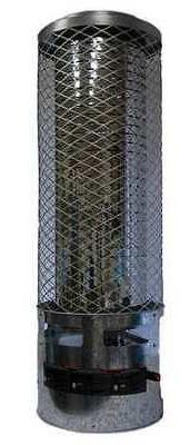 DAYTON 6BY72 Radiant Portable Gas Heater, Natural Gas, 250,0
