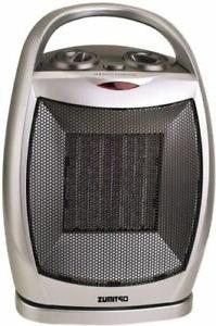 Optimus 750/1500 W Portable Oscillating Ceramic Space Heater