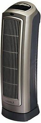 755320 Ceramic Space Heater 8.5 L x 7.25 W x 23 H inches