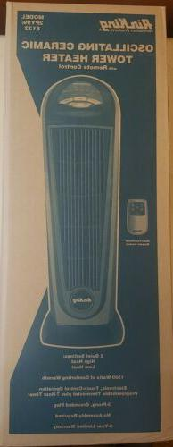 Air King 8132 Oscillating Ceramic Tower Heater w/Remote Cont