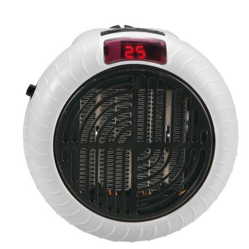 900W Electric Space Fan Heater Remote Control Ceramic Thermo
