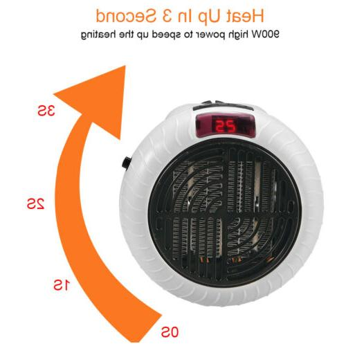 900W Portable Fan Heater Ceramic