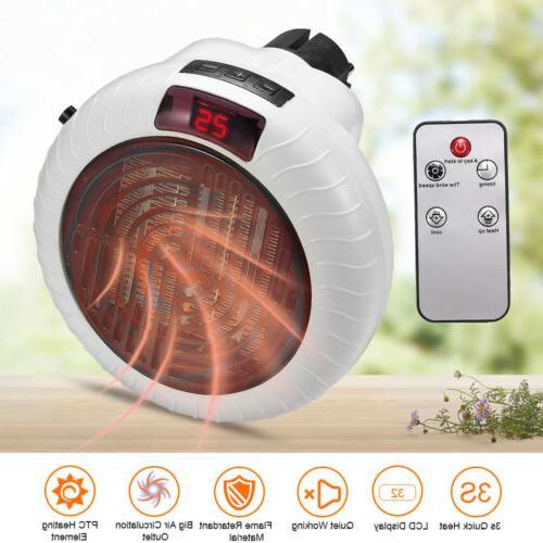900W Space Fan Heater Ceramic Remote Control