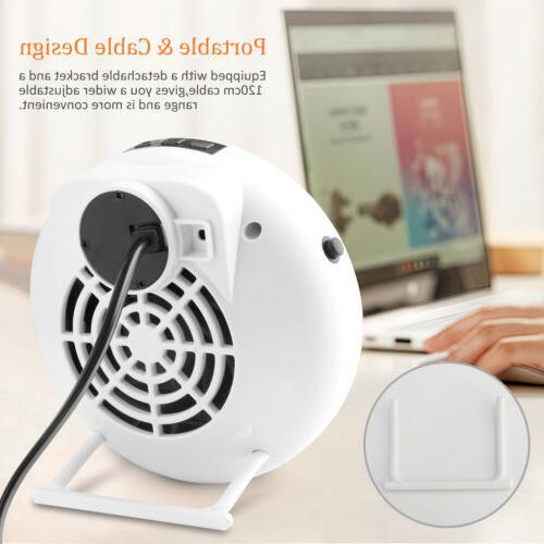 900W Mini Space Heater Electric Ceramic Desk