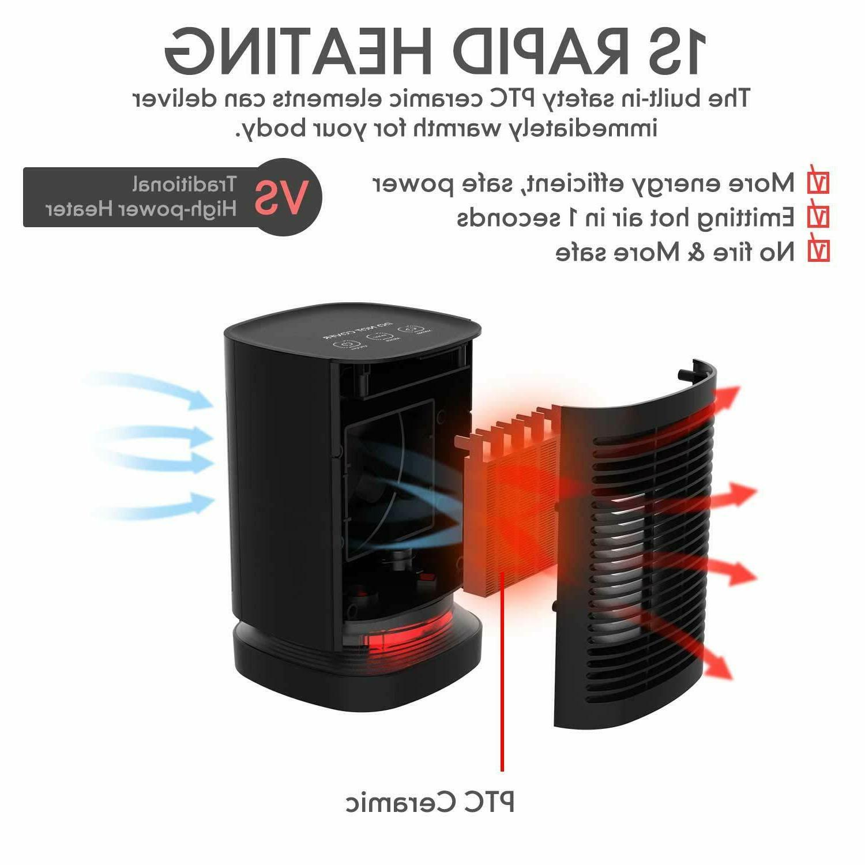 950W Space Heater Auto Off PTC Ceramic Heater