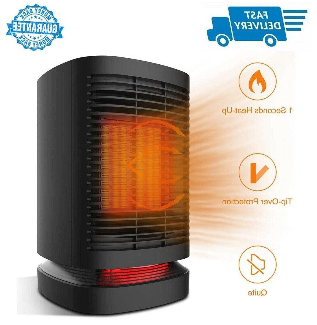 950w electric mini space heater auto turn