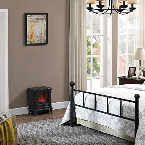 Duraflame Stove with Heater, Black