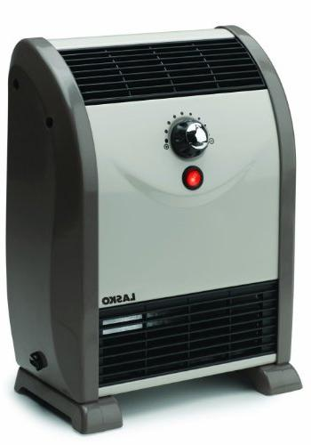 Lasko Automatic Air-Flow Heater with Space-Saving Design, an