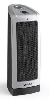 Lasko Electronic Ceramic Tower Heater w/ Oscillation, Electr