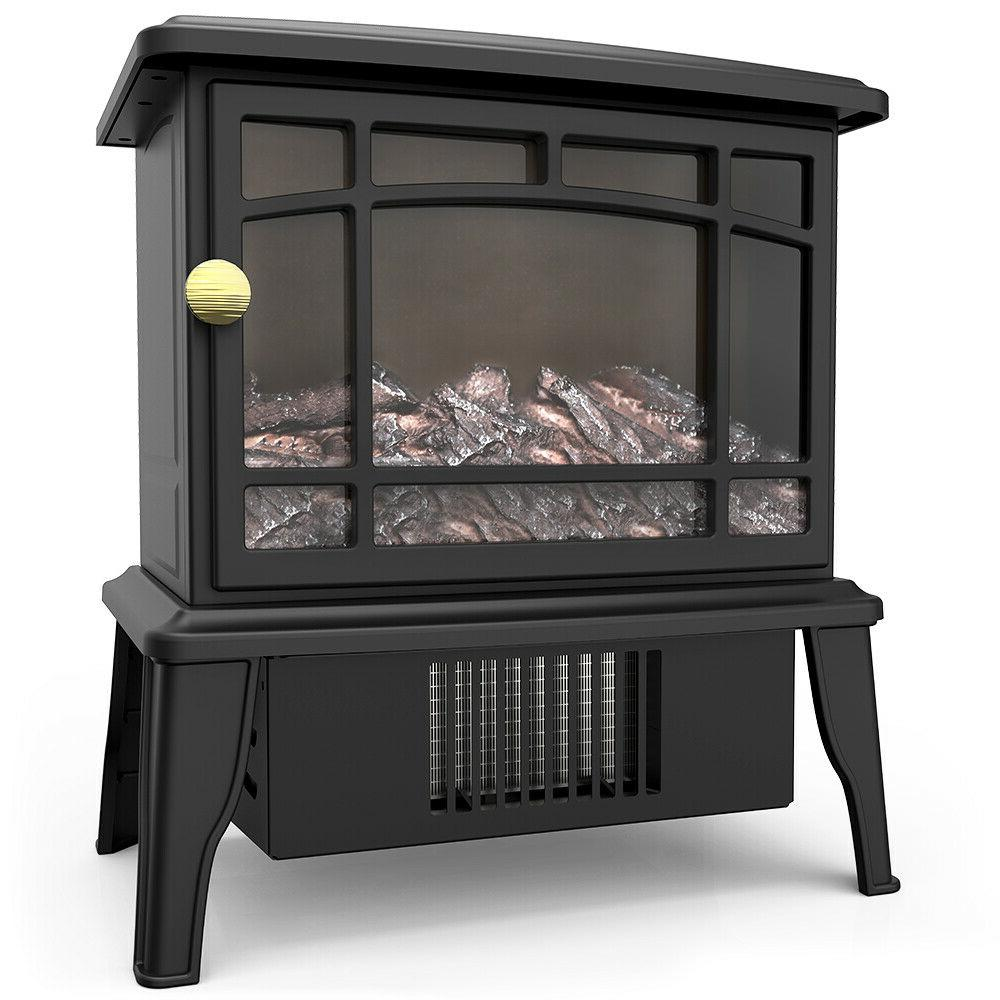 Fireplace Heater,3D Fire Flame