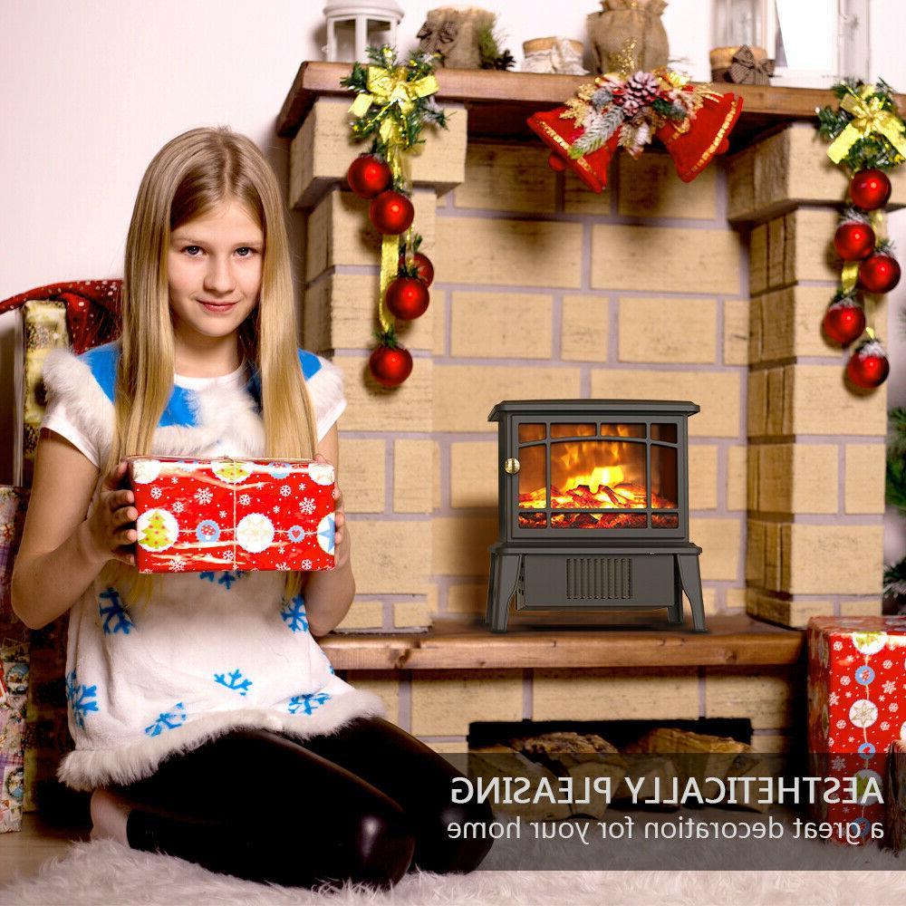 OPOLAR Fireplace Space Fire Stove