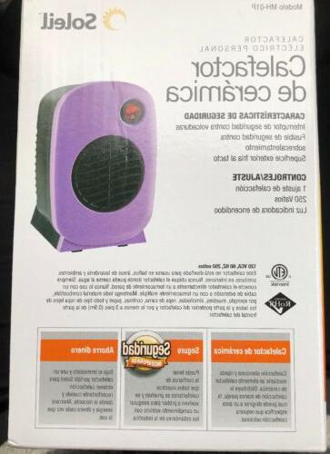 BNIB Soleil Personal Portable 250 Watt
