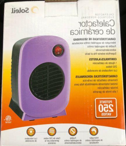 BNIB Personal Portable Space Ceramic Heater