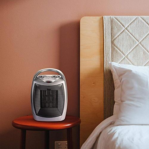 Brightown Space Heater Heater with Overheat Protection ETL Listed for Office Bedroom Watt