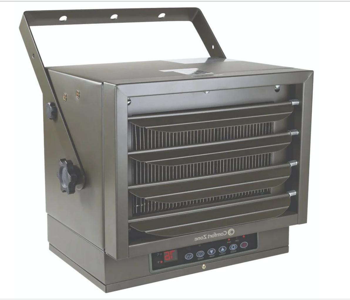 ceiling mount heater garage electric