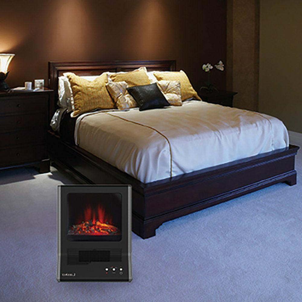 Ceramic Fireplace Portable Electric Space Living Room