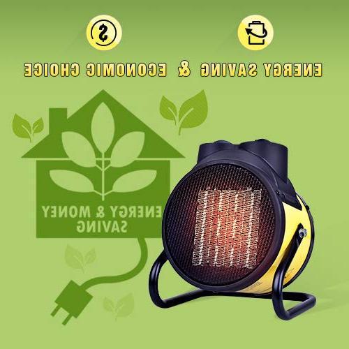 TRUSTECH Ceramic, Adjustable 20 \ 750W Heater Hot Cool Fan, Overheat Protection, Energy-Saving Workplace