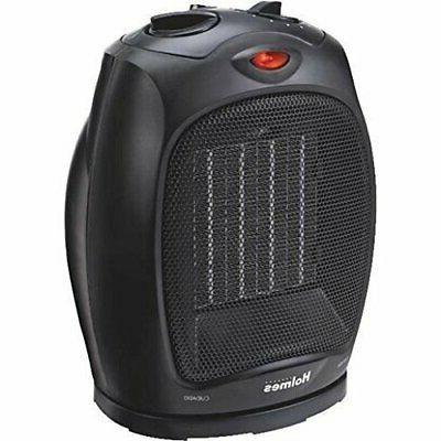 ceramic heater black adjustable thermostat
