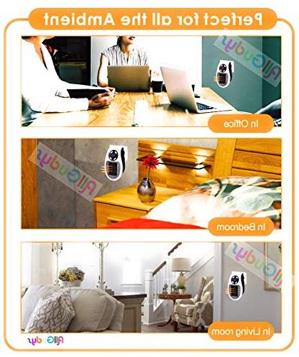 Soleil Personal Space Heater Small Wall Outlet