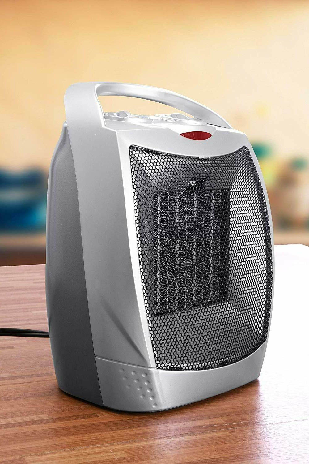 Ceramic Space Heater Adjustable Thermostat