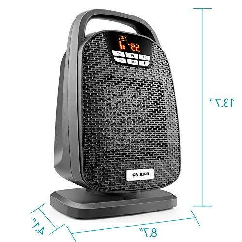 OPOLAR Space Heater Feature, Heating Small and Rooms, Office Floor, Desk Other Indoor Space, Powerful Portable, Approved