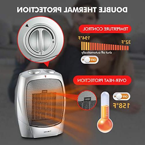 Warmtec Heater with Adjustable Thermostat