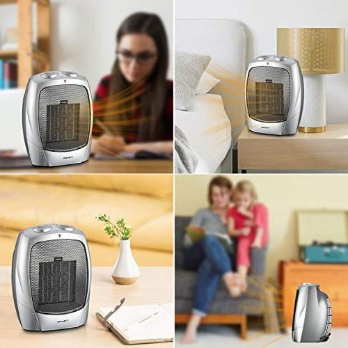 Warmtec Heater with Adjustable Small Tabletop/Floor Electric