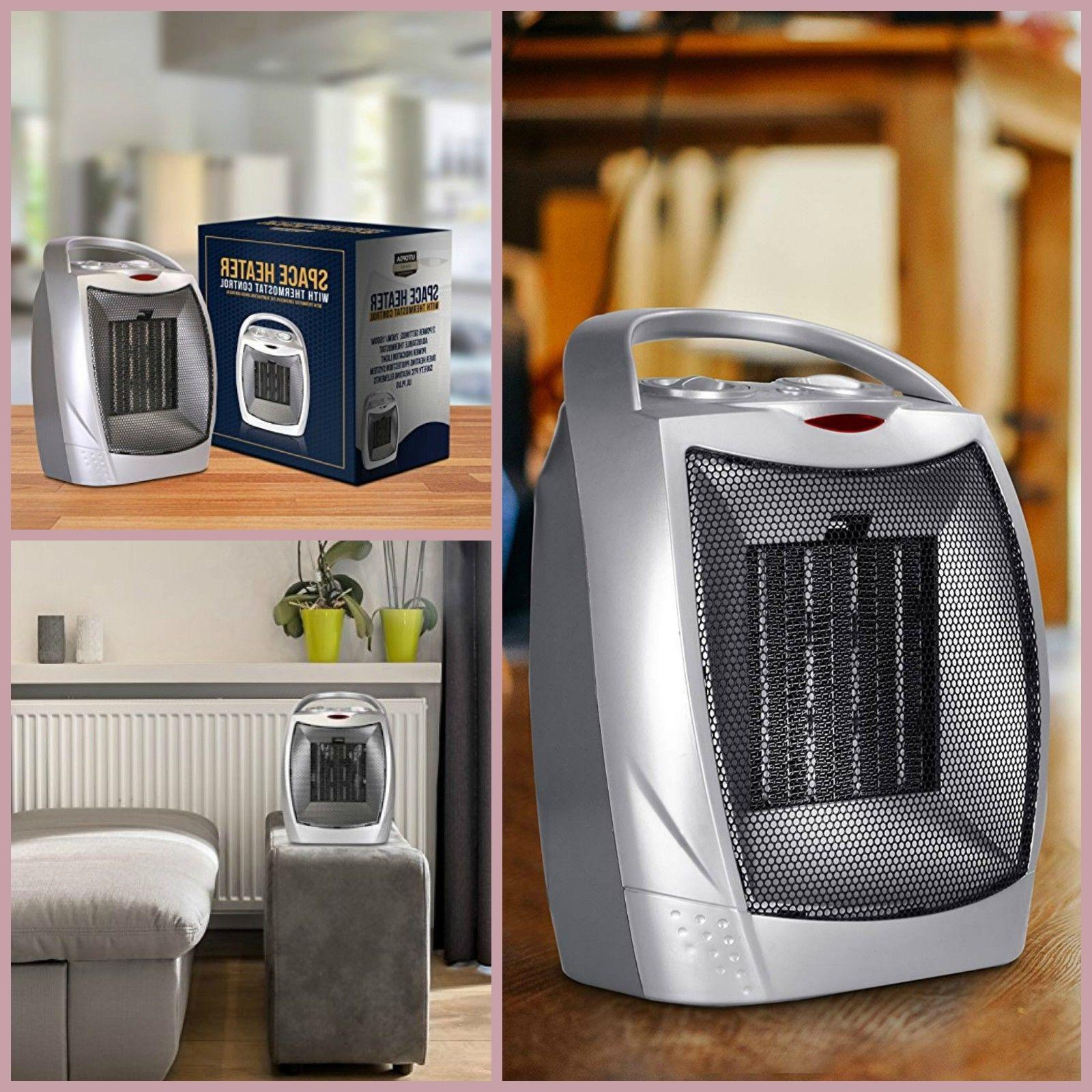 ceramic space heater portable small electric room