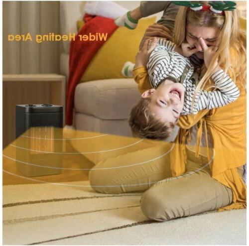 Ceramic Space Portable 750W/1500W Quiet & Heating Fan