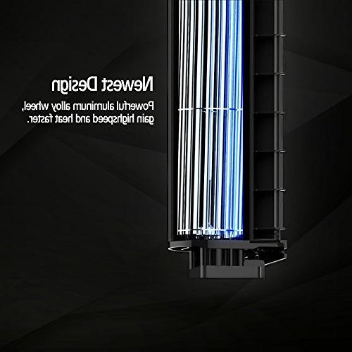 Pelonis Display1,500-Watt Digital Fan Forced Mantle HF-0063