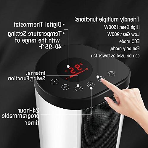 Pelonis Fan Forced Mantle Heater HF-0063