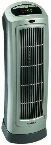 Ceramic Tower Heater with Digital Display and Remote Control