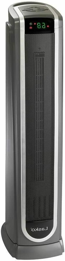 Lasko Ceramic Tower Space Heater w/ Logic Center Digital Rem