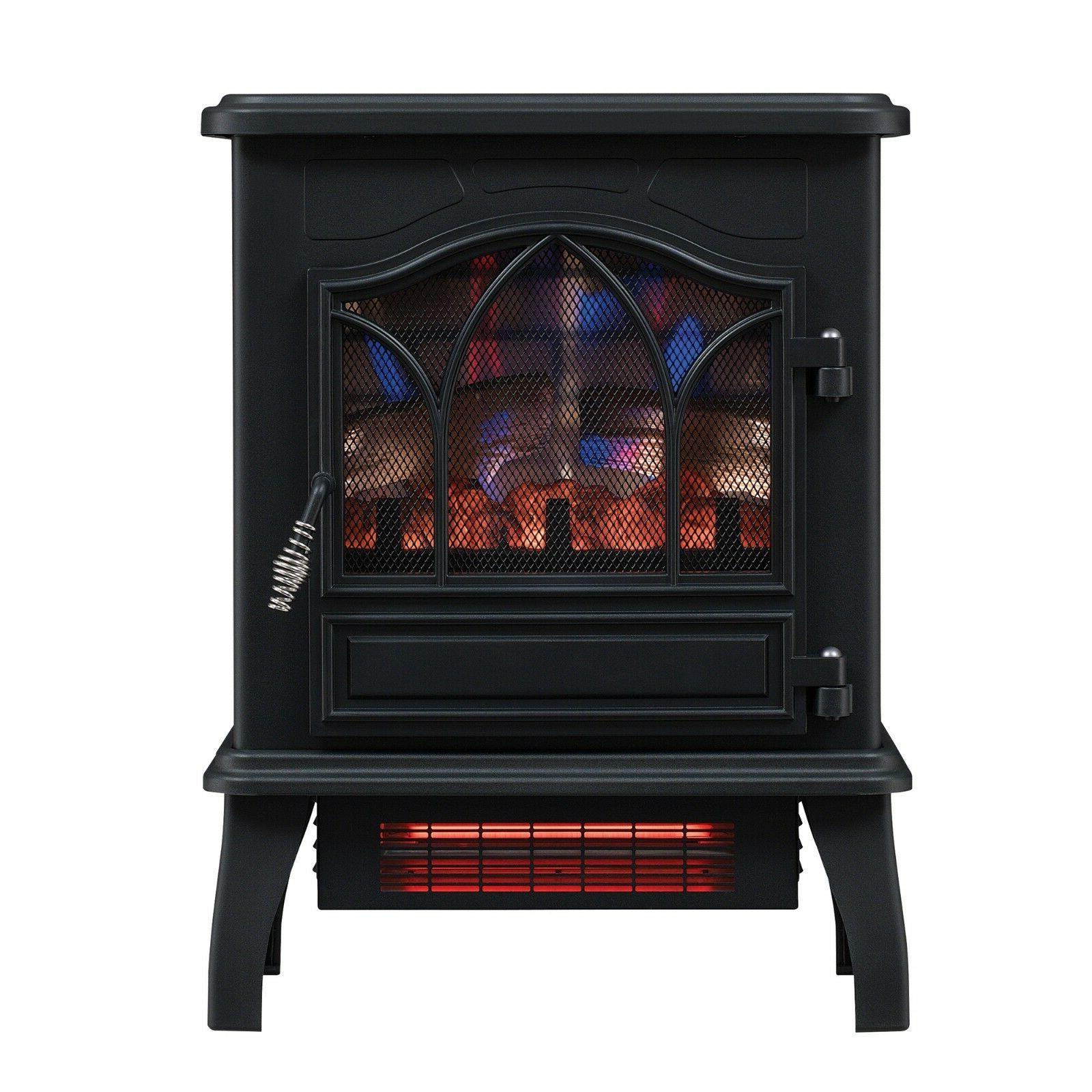 Home Chimney Free Infrared Quartz Electric Room Space Heater