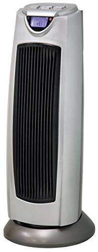 Comfort Zone CZ499R Oscillating Tower Heater with Remote Con
