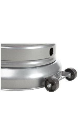 🔥AmazonBasics Commercial, Propane BTU Outdoor Patio Heater, Slate
