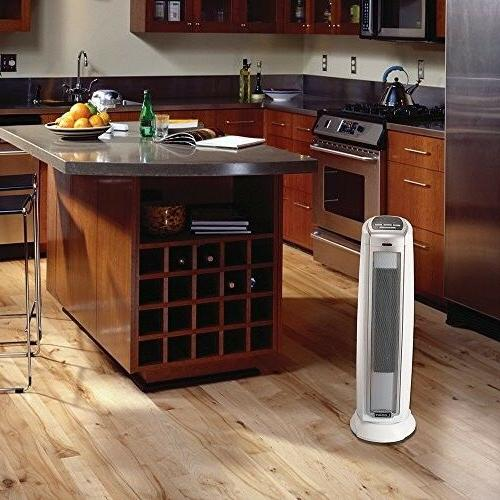compact ceramic heater floor tower office oscillating