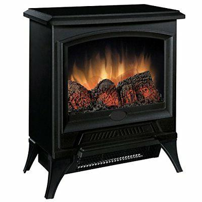 compact electric stove winter room space warm