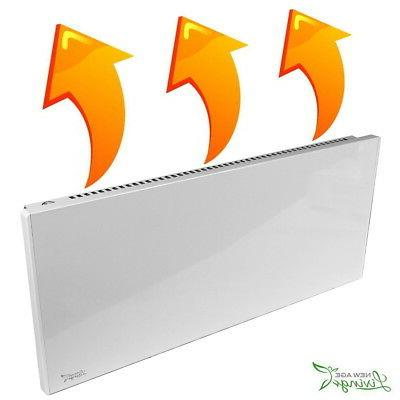 1100W Convection Panel Heater Wall Mountable Portable Space