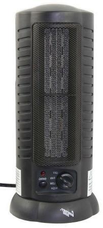 Comfort Zone Cz488 Oscillating Ceramic Tower Heater/fan 17.1