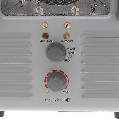 Comfort Portable Heater Personal Fan