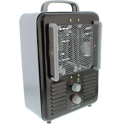 Comfort Portable Electric Heater Personal Fan