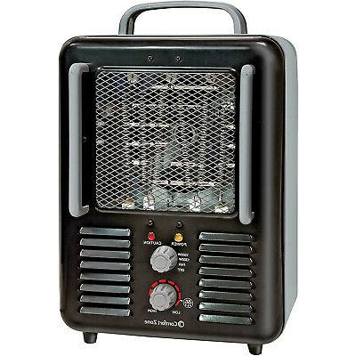 cz798bk compact portable electric utility space heater