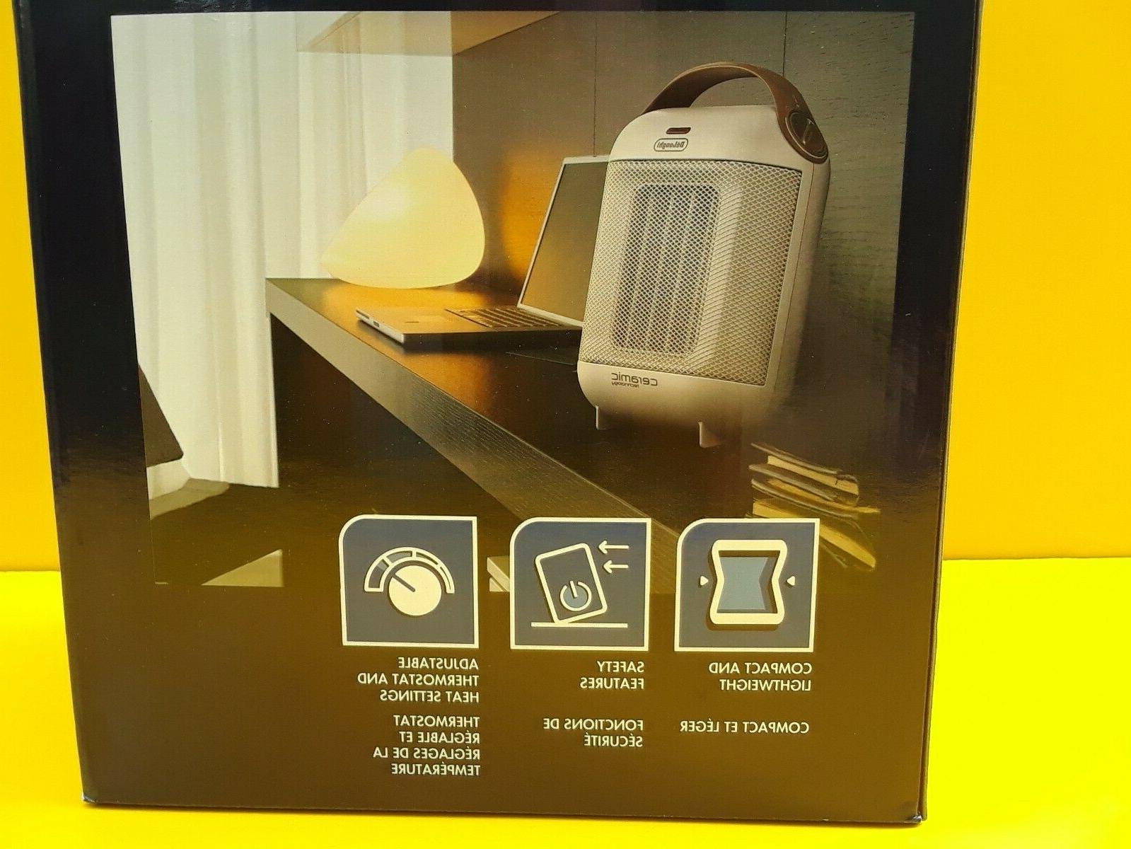 DeLonghi 1500 Watt Compact Electric Heater With Energy