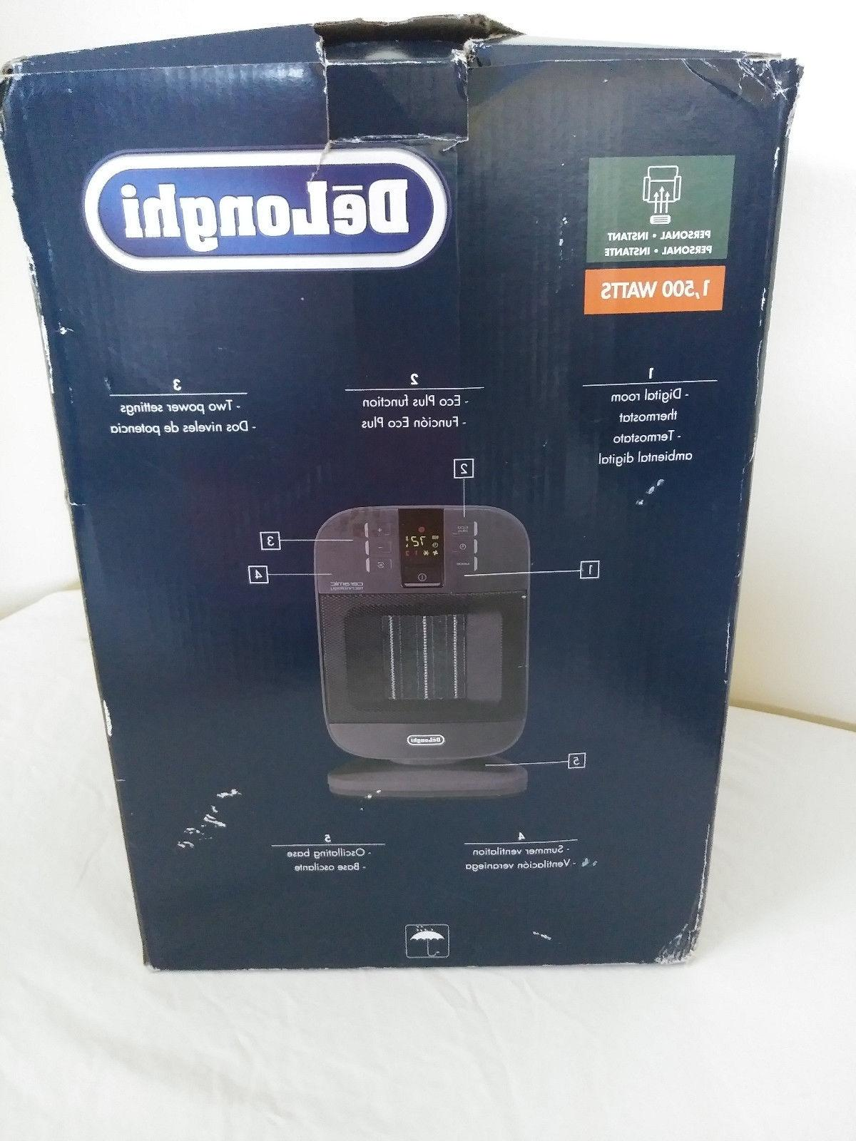 DeLonghi Compact Personal Electric Heater Thermostat
