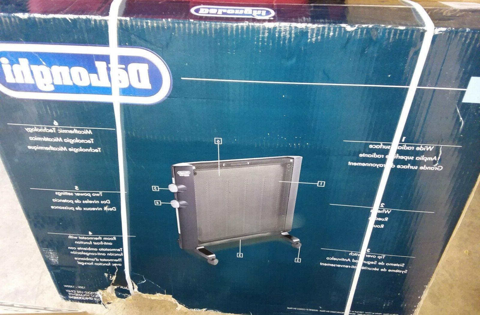 delonghi hmp1500 mica panel heater new