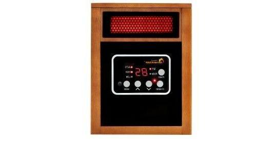 dr infrared heater portable space 1500 watt