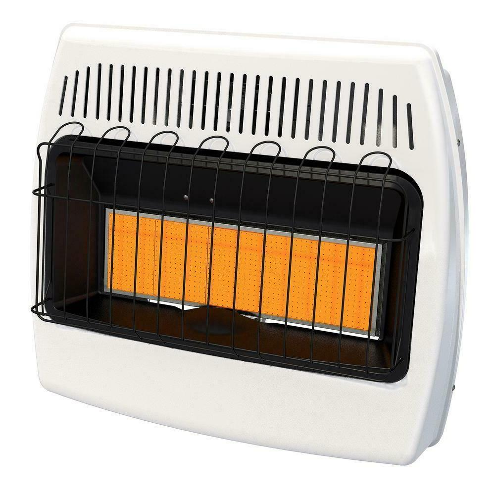 wall mount heater natural gas infrared 30
