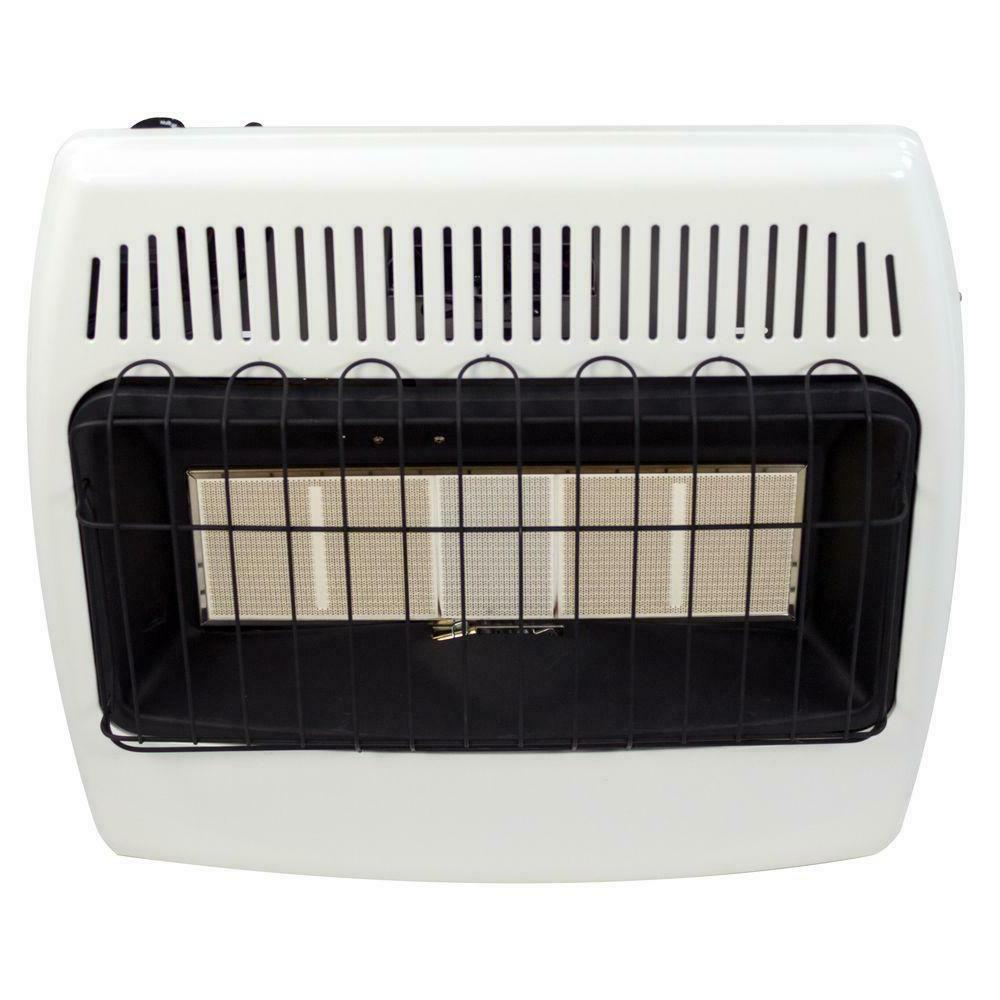 Wall Mount Heater Gas Infrared Indoor Cabin Safe