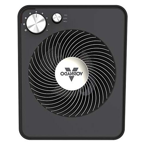 Vornado VMH300 Whole Metal Heat and Thermostat Storm Gray